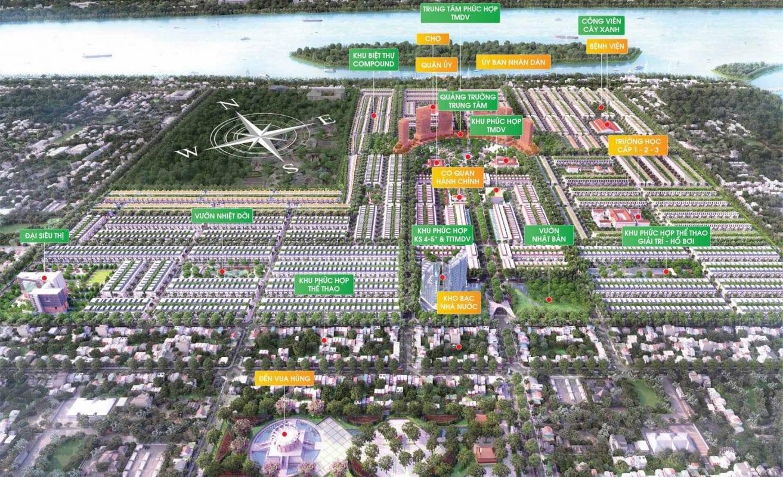 Phối cảnh tiện ích dự án Stella Mega City