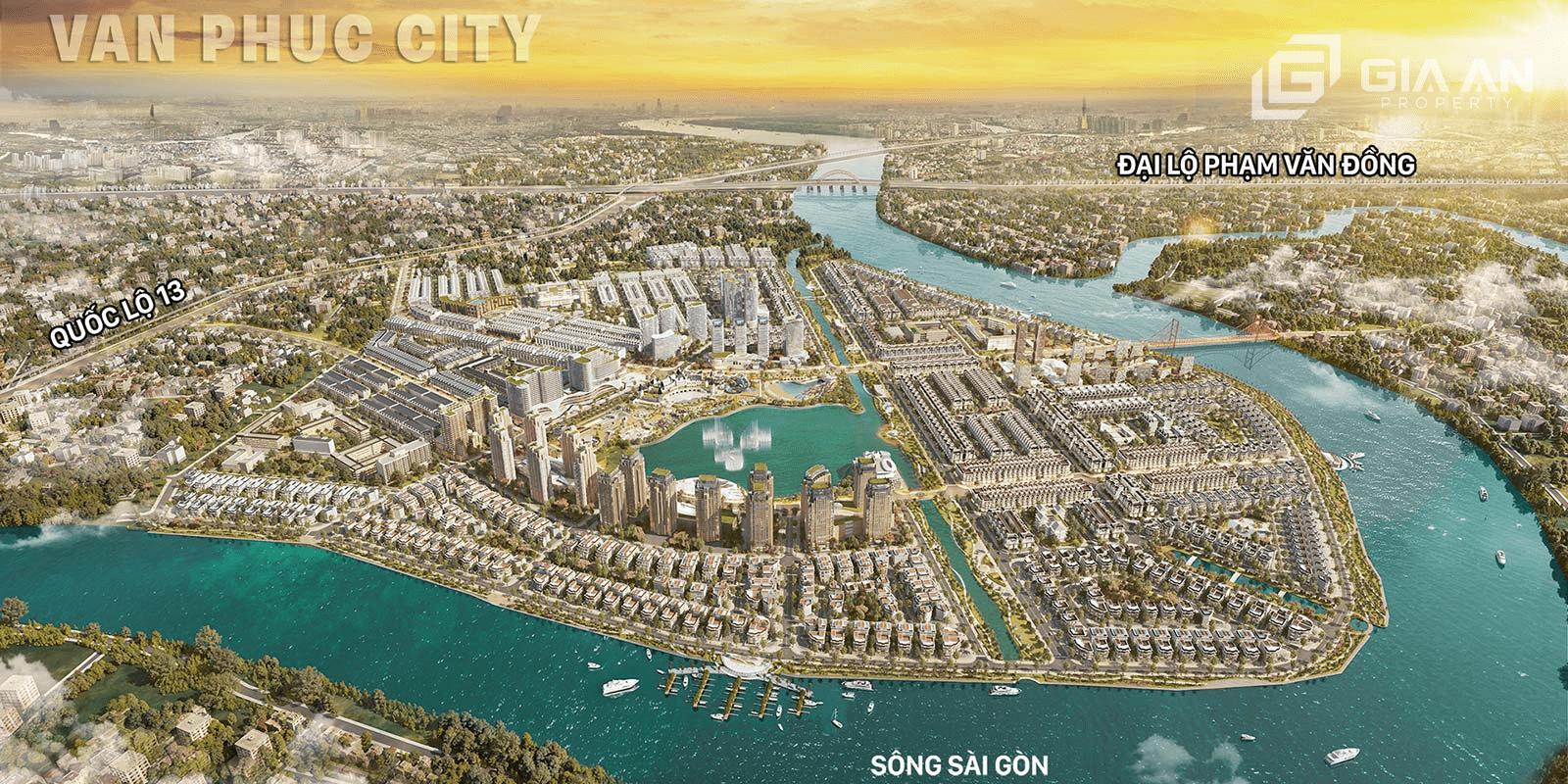 Khu đô thị Vạn Phúc City - 57