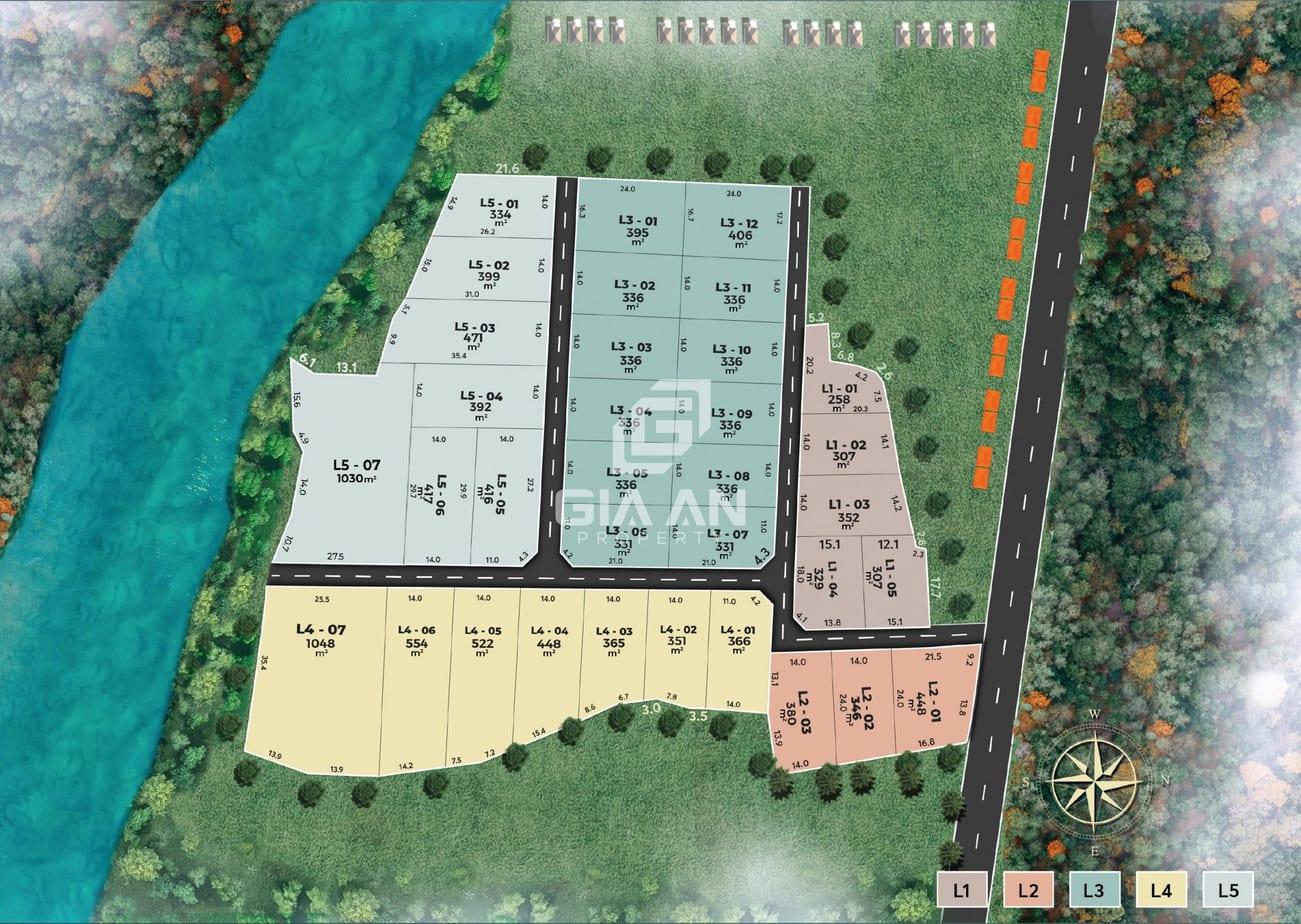 Dự án đất nền Fog Garden Bảo Lộc