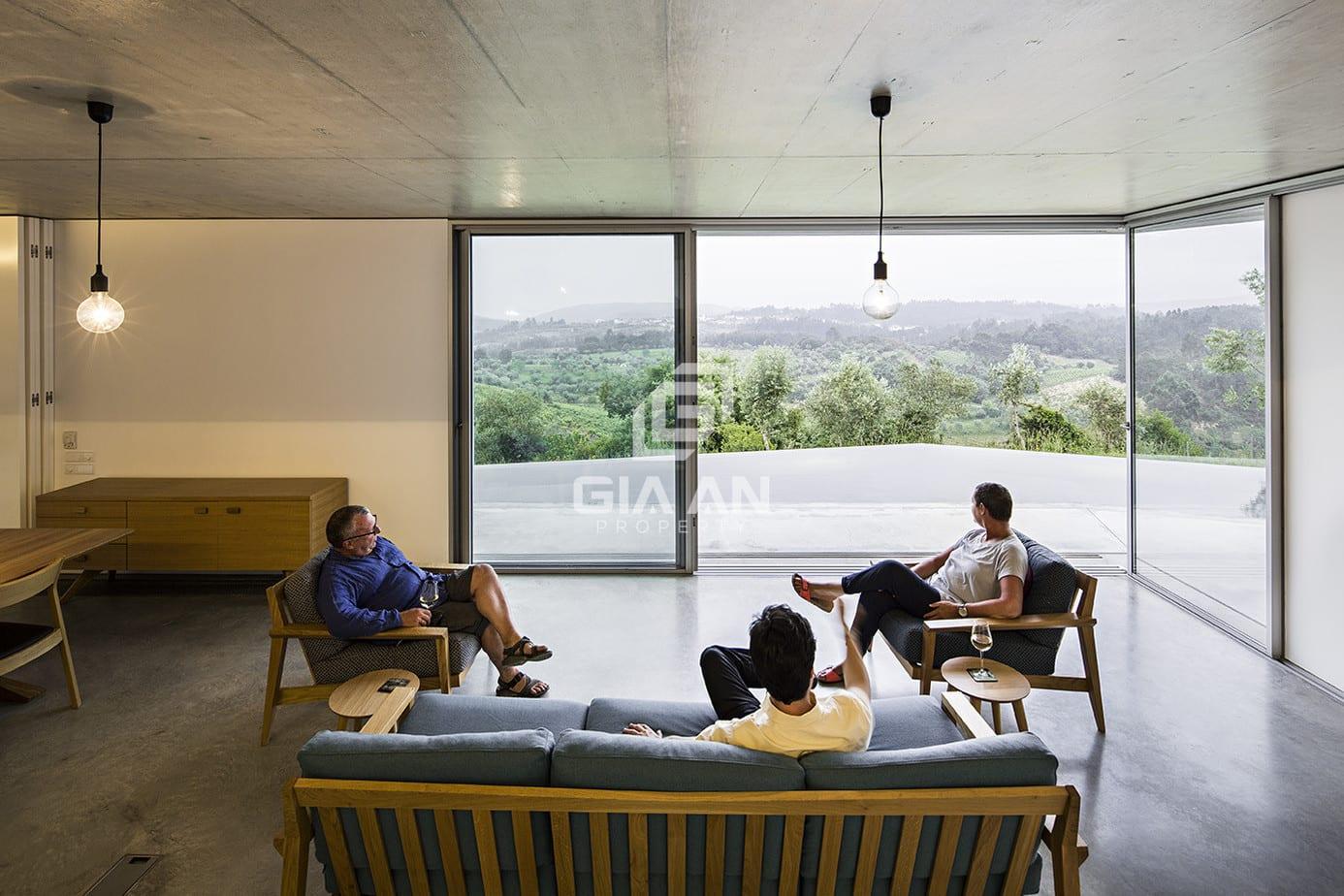 Không gian nghỉ dưỡng thoáng đẹp trên sườn đồi ở Bồ Đào Nha - 16