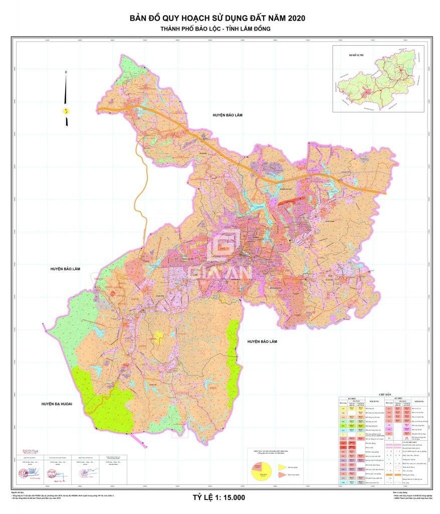 Bản đồ quy hoạch đất Bảo Lộc mới nhất - 4