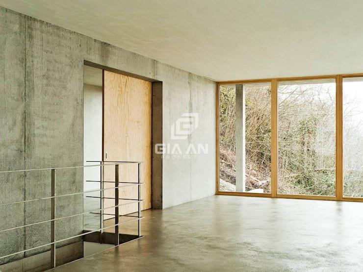 Hành lang, sảnh & cầu thang phong cách hiện đại bởi GIAN SALIS ARCHITEKT Hiện đại