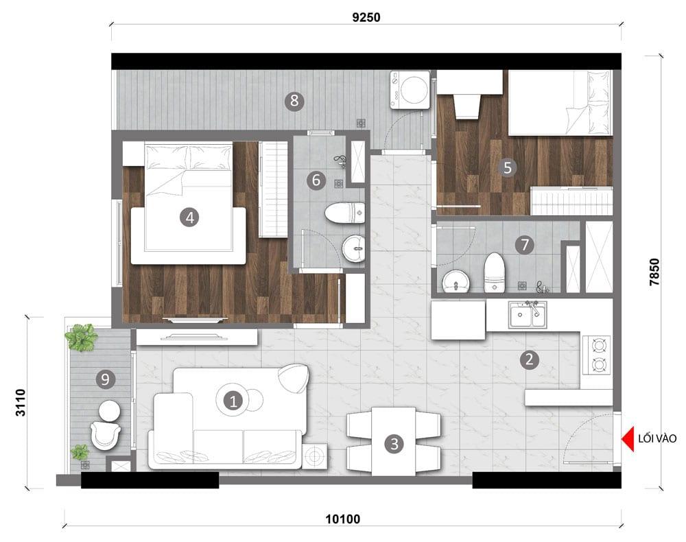 Stella 520 Võ Văn Kiệt - Dự án căn hộ cao cấp Bình Tân