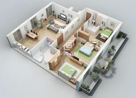 Cách bố trí các phòng trong nhà