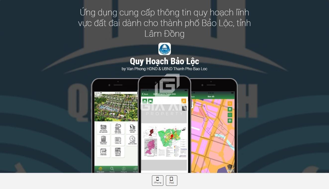 Giới thiệu ứng dụng tra cứu quy hoạch Bảo Lộc - Lâm Đồng - 6