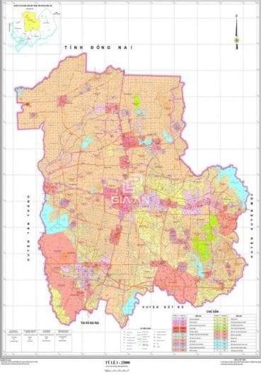 Bản đồ quy hoạch huyện Châu Đức – Bà Rịa năm 2021 - 2