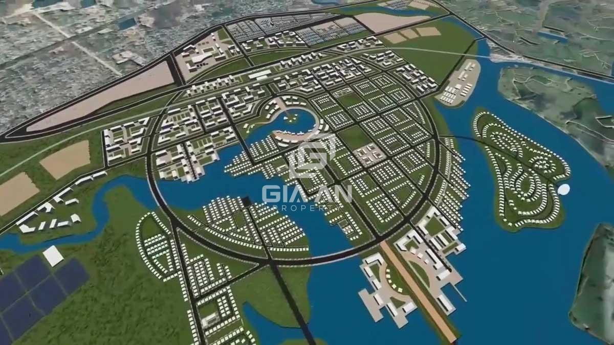 Mặt bằng Tổng thể Dự án Khu đô thị Tây Nam Bà Rịa Vũng Tàu