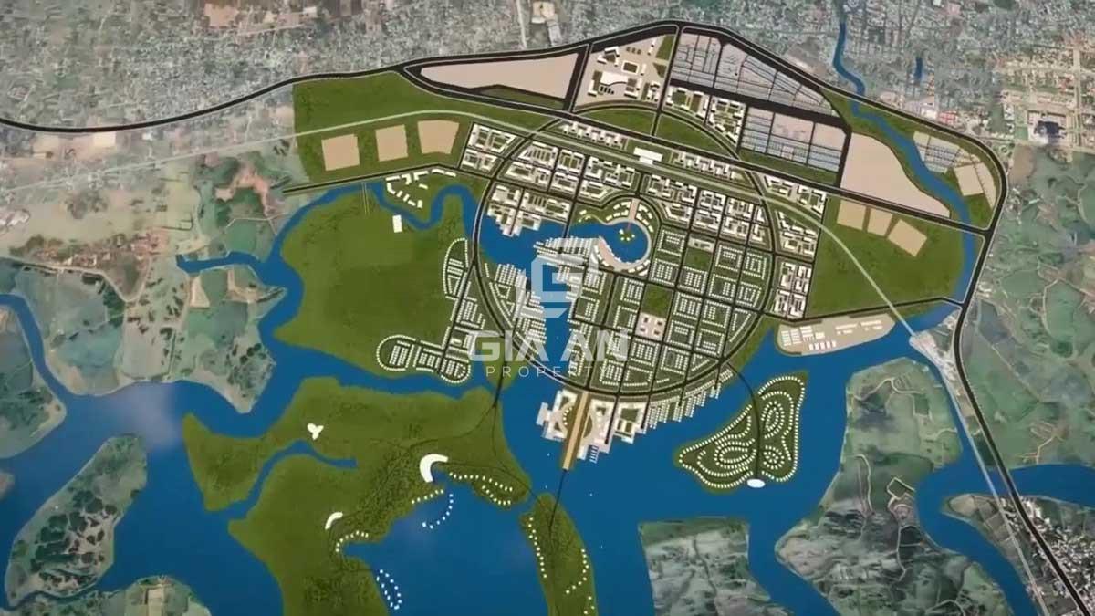 Phối cảnh Dự án Khu đô thị Tây Nam Bà Rịa Vũng Tàu