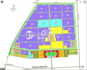 Bản đồ quy hoạch KCN Đất Đỏ 1
